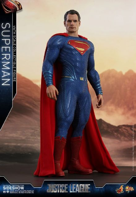 Hot Toys MMS465 DC Justice League Superman 1/6 Scale Figure